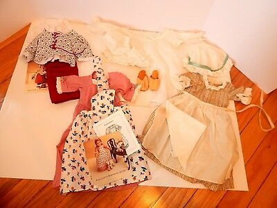 Lot of American Girl Pleasant Company doll Felicity Clothes Outfits Dresses