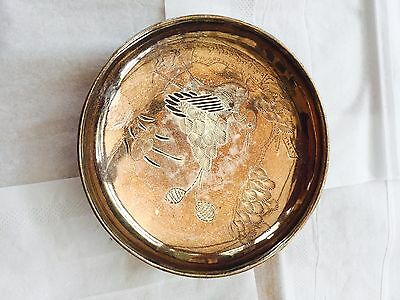Chinese Antique Silver Plate