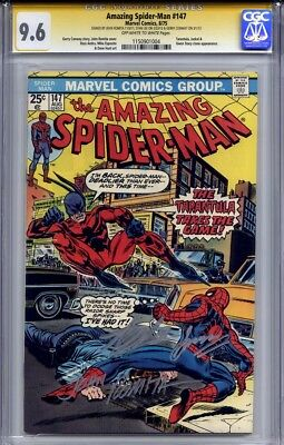 Amazing Spider-Man #147 Cgc 9.6 Ss John Romita, Gerry Conway & Stan Lee