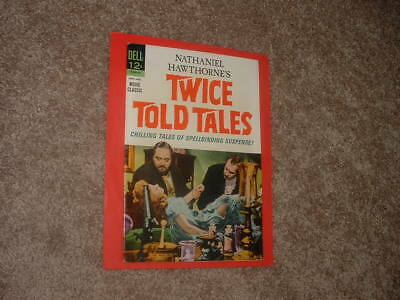 1964 Dell 12-840-401 Movie Classic Hawthorne's Twice Told Tales FN Free Shipping