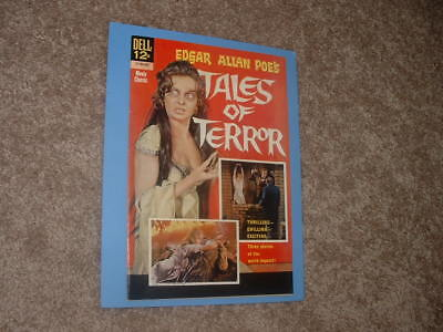 1962 Dell 12-793-302 Movie Classic Poe's Tales of Terror FN+ Free Shipping