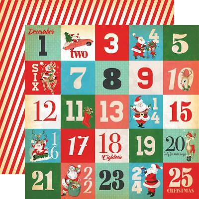 """Carta Bella - DAYS OF CHRISTMAS JOURNALING CARDS 12x12"""" d/sided paper"""