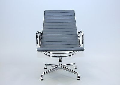 Vitra Aluminium Group Chair EA 115 Leder / 5 x vorhanden