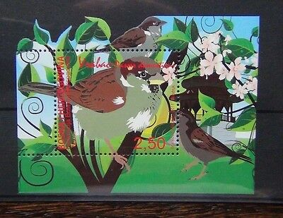 Bosnia & Herzegovina 2011 Birds Miniature Sheet MNH