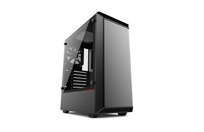 Phanteks Eclipse P300 Black Midi Tower Gaming Case - USB 3.0