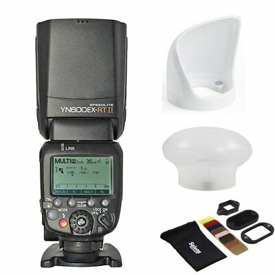 YONGNUO YN600EX-RT II Wireless Flash Speedlite + Universal Magnetic Modifier