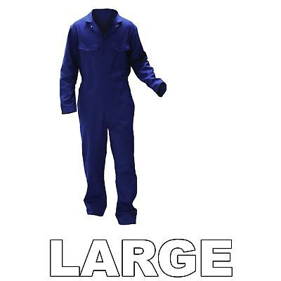 Warrior 0118B2 Navy Large Spray Painter's Paint Overalls Action Back Styling