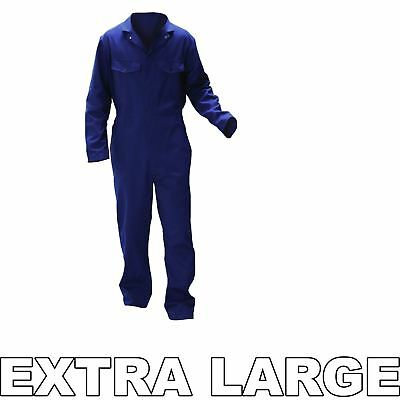 Warrior 0118B2 Navy XLarge Spray Painter's Paint Overalls Action Back Styling