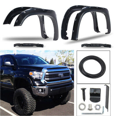 For Toyota Tundra SR5 TRD 2014-2017 Pocket Rivet Style Bolt On Fenders Flares