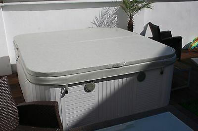 (89,91/m²) Whirlpool Abdeckung Thermoabdeckung Cover 201 x 154 cm grau Outdoor