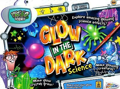 Weird Science Glow in The Dark Educational Experiment Toy Set