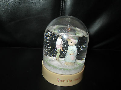Precious Moments By Enesco Snow Globe 1983