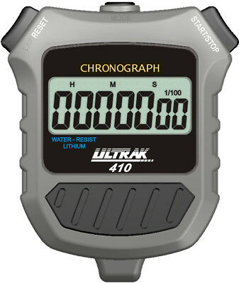Ultrak 410 Simple Event Timer Stopwatch with Silent Operation