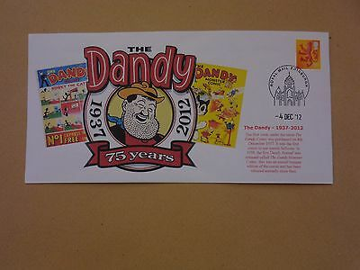 The Dandy 75Th Anniversary First Day Cover 1937-2012