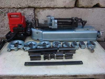 Parker 632 Hydraulic Tube Bender With Many Dies, Pump.   Great Shape