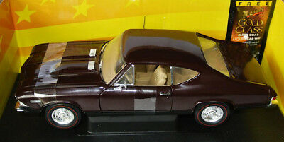 ERTL 10 Years / 36382 - 1968 CHEVY CHEVELLE SS396 - maroon - 1:18 lim.