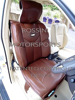 To Fit A Vauxhall Tiga Car, Seat Covers, Ymdx 02 Rossini Sports Brown