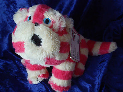New Lavender Scented Natural Intelex Plush Microwavable Bagpuss Toy Doorstop