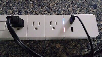 WiFi Advance Control Technology Power Strip w/Timer Feature and 2- USB Ports