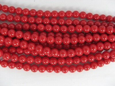 10 Strands 8mm Coral Mountain Jade Round beads,520 bead
