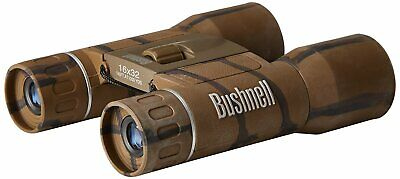 Bushnell Powerview Compact Folding Roof Prism Binocular 10 x 25 Camo
