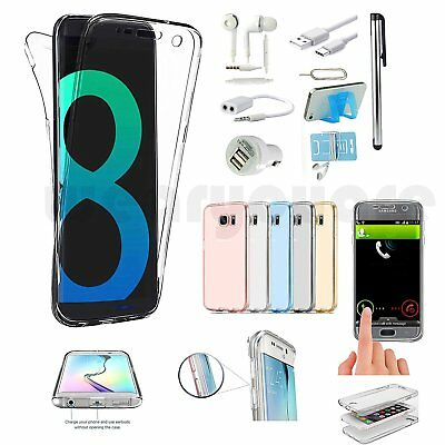 Full Body Case Cover Headset Accessory For Samsung Galaxy S7 Edge S8 S8+ Note 8