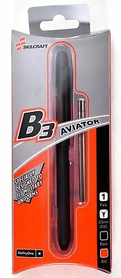 SKILCRAFT B3 Aviator Triple Function Pen 0.5mm Black & Red Ink Multifunction NEW