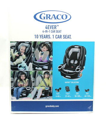Graco 4 ever All-in-One Convertible Car Seat  Matrix