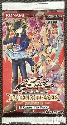 Yu-Gi-Oh! Duelist Pack Yusei 2 Booster Pack (New & Sealed) English 1st Edition