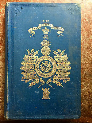 1885 Historical Record and Regimental Memoir of the Royal Scots Fusiliers