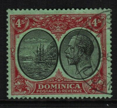 ~ Dominica, Used, #65-6, 68-71, 73-82, Great Centering, (1) Shown