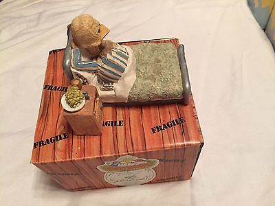 Malcolm Bowmer Eggbert Recouperation Large Piece Boxed. Hospital Patient. Signed