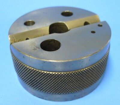 "3"" DIAMETER BENCH ROUND BLOCK V-BLOCK machinist tools"