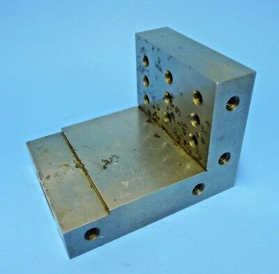PRECISION RIGHT ANGLE PLATE COMBINATION STEP BLOCK 3-5/8 x 2-3/4 x 3 x 7/8 - 4lb