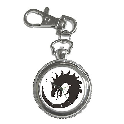 Dragon Art Cool Mystical Creature Round Keychain Watch **great Item**
