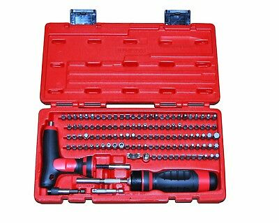 "MAC Tools SBDR123SA 123PC 1/4"" HEX DRIVE MAC-GRIP RATCHETING BIT DRIVER SET"