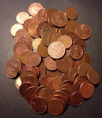 EURO COIN LOT - 100+ COINS - Excellent Group - Lot #919