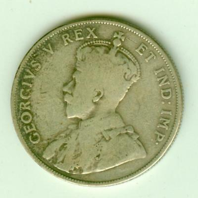 Canada Silver 1911 50 Cents-Lot A2