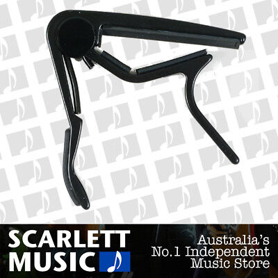 Jim Dunlop Black Acoustic Trigger Capo J83CDB - MADE IN USA *BRAND NEW*