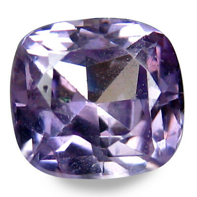 0.845CTS Glorious luster purple natural sapphire cushion video in description