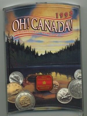1998 OH! CANADA! Uncirculated Seven Coin Set