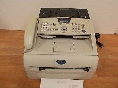 BROTHER INTELLIFAX FAX-2820 Laser Printer Fax Machine w/34857 PageCount WORKING