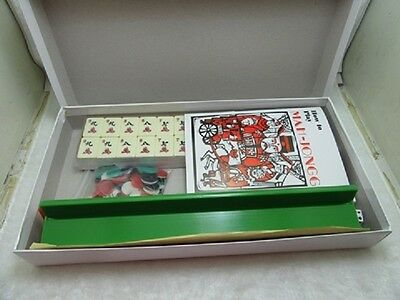 1Set New Western Travel Mah-jong Set 166 Pieces with Case