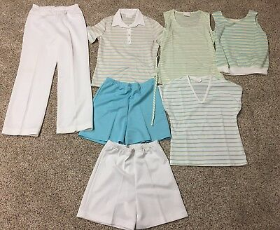 Vintage Cos Cob Lot of 7 Clothing Shorts Pants Shirts 13/14 Small Medium Womens