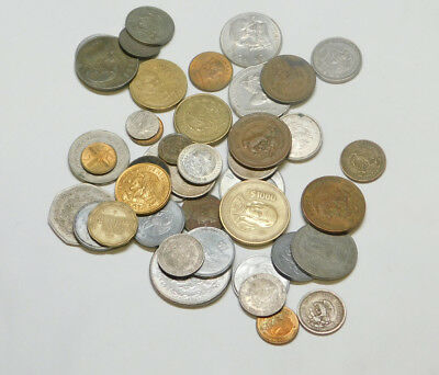 Pile of old Coins from Mexico      Lot Y     9/19