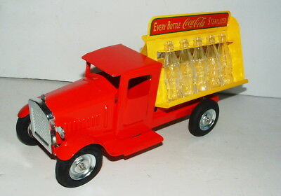 COCA COLA SILVERTOWN PRESSED STEEL 1930s STYLE DELIVERY TRUCK MINT CONDITION