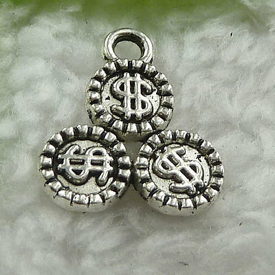 Free Ship 170 pieces tibet silver nice charms 16x13mm #1437