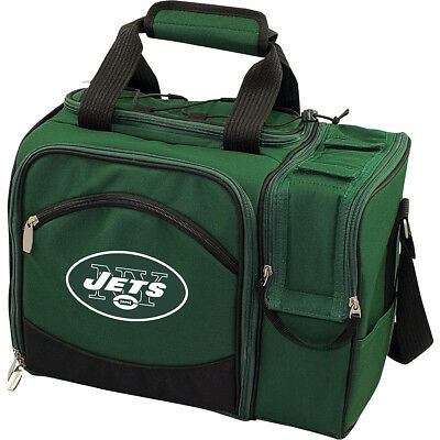 Picnic Time New York Jets Malibu Insulated Picnic Pack Outdoor Cooler NEW
