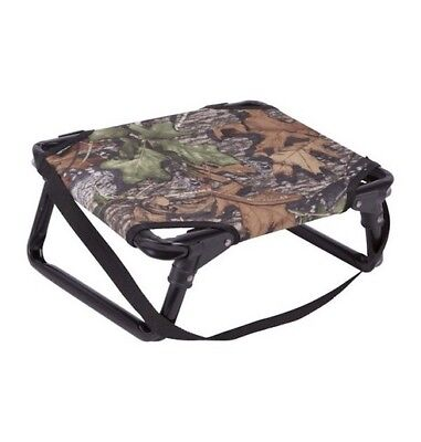 "Allen 5801 Folding Field Stool 225lb Capacity 16.75""x 13""x 7.5"" Mossy Oak"