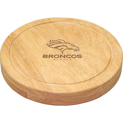 Picnic Time Denver Broncos Cheese Board Set - Denver Outdoor Accessorie NEW
